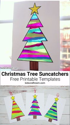 This Tissue Paper Christmas Tree Suncatcher Craft Is Such A ! das seidenpapier weihnachtsbaum suncatcher craft ist so ein This Tissue Paper Christmas Tree Suncatcher Craft Is Such A ! Christmas Art Projects, Easy Christmas Crafts, Diy Christmas Ornaments, Christmas Fun, Christmas Decorations, Craft For Christmas For Kids, Fall Crafts, 2nd Grade Christmas Crafts, Christmas Crafts For Kindergarteners