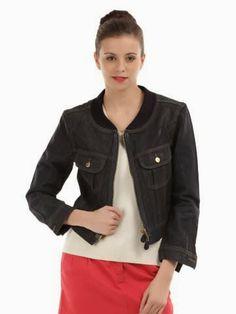 Mega Online Sale: Lee Women Blue Jacket @4474(50% Off) At Myntra.com