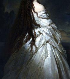 Empress Elizabeth of Austria by Franz Xavier Winterhalter, 1865