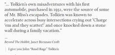 """John """"Road Rage"""" Tolkien"""