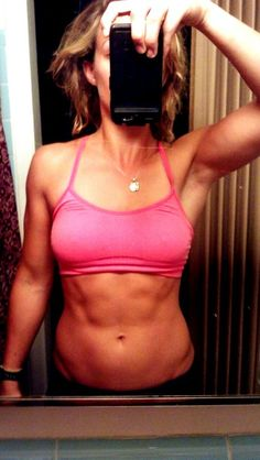 Yaaassss! Her stomach is perfect... not too too cut or hard looking but just enough, FIT!!