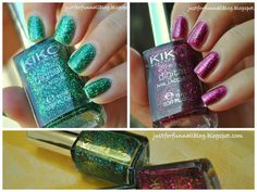 KIKO Digital Collection Swatches + 2 years Anniversary Giveaway! - Just For Fun