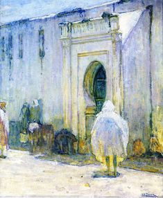 "impressionism-art-blog:  ""Near East Scene, 1912, Henry Ossawa Tanner  """
