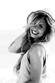 Demi Lovato... This is someone who's been through so much. She's an inspiration to me. Thank you.