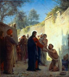 Christ Healing Carl Bloch.jpg (428×480)