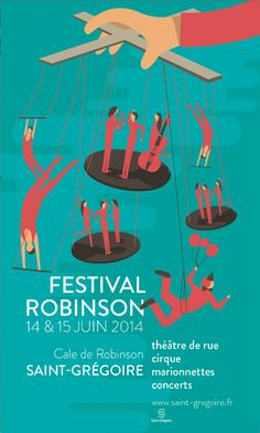 Festival Robinson © Pollen Studio #illustration