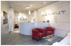 AZIMUT Yachts Headoffice Slovakia by Joseph Tucny, via Behance Azimut Yachts, Portfolio Design, Joseph, Designers, Behance, Portfolio Design Layouts