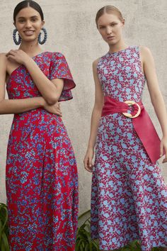 Carolina Herrera Resort 2018--look femenino y bello