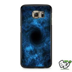 Blue Black Hole Samsung Galaxy S7 Case