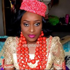 Jojos Touch Nigerian Wedding: 20 Beautiful Rivers/ Ijaw Brides, Their Style, & Their Flawless Makeovers | Nigerian Wedding