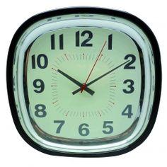 Horloge Rétro Noire