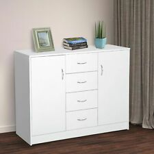 White Cabinets & Cupboards for sale | eBay White Bedside Cabinets, White Sideboard, White Cabinets, Sideboard Furniture, Sideboard Cabinet, White Furniture, Bedroom Furniture, Cupboard Storage, Storage Cabinets