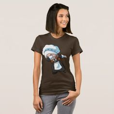 Thanksgiving Dabbing Pilgrim Girl Dab T-Shirt  $35.00  by clonecire  - cyo diy customize personalize unique
