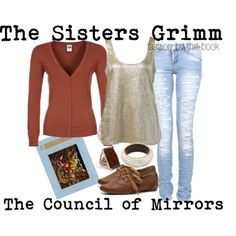 The Sisters Grimm: The Council of Mirrors by Michael Buckley