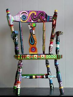 Insanely chic creative and colorful upcycling furniture projects - Creative Upcycled Furniture