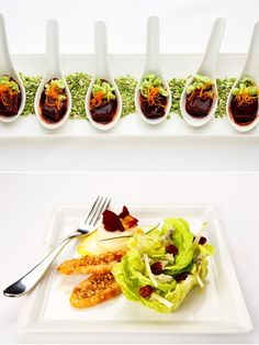 Menu and catering advice from WP Catering. Click for the article from @Style Me Pretty!