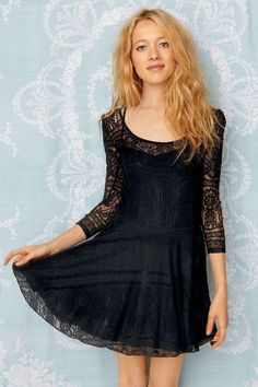 Free People Victorian Loves Lace Dress