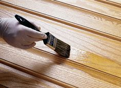Fiberglass Doors Staining Guide | Old Masters Staining Fiberglass Door, Old Masters Gel Stain, Painted Front Doors, Metal Containers, Diy House Projects, Wood Surface, Diy Home Improvement, Working Area, Panel Doors