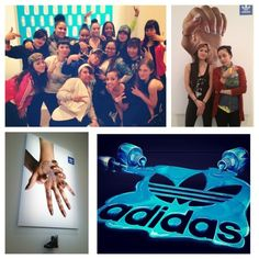 The Block Report II  Adidas Originals Pop Up Nail Salon Follow LFN on Instagram at @ladfancynails