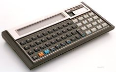 Do any of you remember this? Artificial Brain, Hp Computers, Home Computer, Hewlett Packard, Computer Hardware, Computer Technology, Calculus, Retro, Calculator