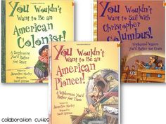 """Social Studies mentor texts: """"You Wouldn't Want to Be..."""" series"""