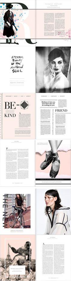 Lone Wolf Magazine | Issue 10 Layout: