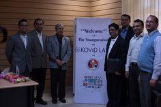 Prof Dr. #GautamBiswas Honorable #Director of #IITGuwahati, Global #CEO of #KovidGroup Mr. #NixonPatel and Global #COO of Kovid Group Mr. #SrinathRaman at #IITGuwahati #Kovidlabs #Inauguration 2017. #Researchlab #kovidacademy #DataAnalytics #DataScience