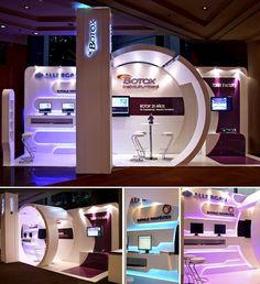 Botox booth #exhibitdesign #tradeshow #eventprofs