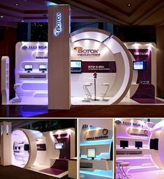 Botox booth #exhibitdesign #tradeshow #eventprofs