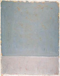Combinación azul pálido y gris. Rothko.