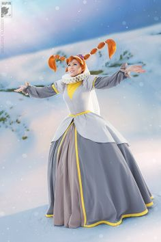 Thumbelina cosplay I just love how this brings me back to being little and watching this movie often.