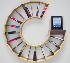 make your own bookshelf | ... Racconto Plurale bookcase lets you create your own combinations