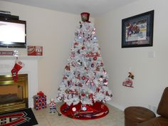 Montreal Canadiens Christmas Tree 2015