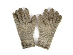 A pair of Sanquhar gloves, dated 1818