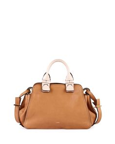 0222a9ad6 Chloe Fynn Small Double-Handle Satchel Bag