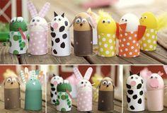 Idées déco pour Pâques avec des animaux sympas DIY