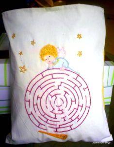 almofada labirinto do anjo
