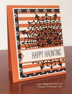 Cheer All Year, Happy Haunting Designer Series Paper, Stampin' Up!, Brian King, FabFri70