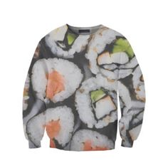 Sushi Sweater Unisex, $59, now featured on Fab. spoken like a true sushi lover