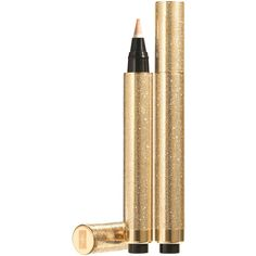 Yves Saint Laurent Beaute Touche Eclat Strobing Light Highlighter ($44) ❤ liked on Polyvore featuring beauty products, makeup, face makeup, beauty, cosmetics, faces, make, filler, yves saint laurent makeup and eyebrow makeup