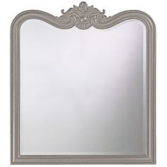 Eliza Glossy Nickel Rectangle Mirror