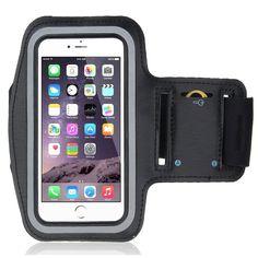 xFitness Sports Armband for upto 4.7-Inch Phones, Black
