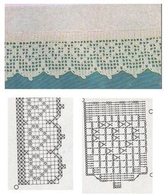 Patterns and motifs: Crocheted motif no. 1009