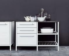 Vipp Küche - Weißes Regal