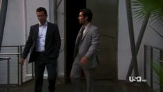 "Burn Notice 4x12 ""Guilty as Charged"" - Michael Westen (Jeffrey Donovan) & Adam Scott (Danny Pino)"