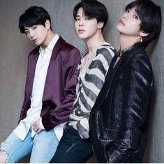Maknae line BTS💕💖 Jeon jungkook Park Jimin Kim Taehyung Bts Blackpink, Foto Jungkook, Jimin Jungkook, Bts Taehyung, Bts Bangtan Boy, Namjoon, Vmin, K Pop, Billboard Music Awards