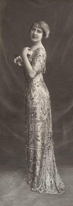 Robe du soir 1911