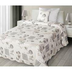 Béžové oboustranné vintage přehozy a deky na postel - dumdekorace.cz Comforters, Blanket, Vintage, Furniture, Design, Home Decor, Creature Comforts, Quilts, Decoration Home