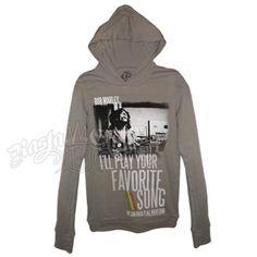 Bob Marley Favorite Song Grey Long Sleeve Thermal - Women's #BobMarley