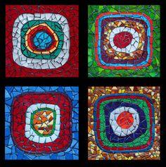 Nebula - glass mosaic anaposada.mosaico Colombia